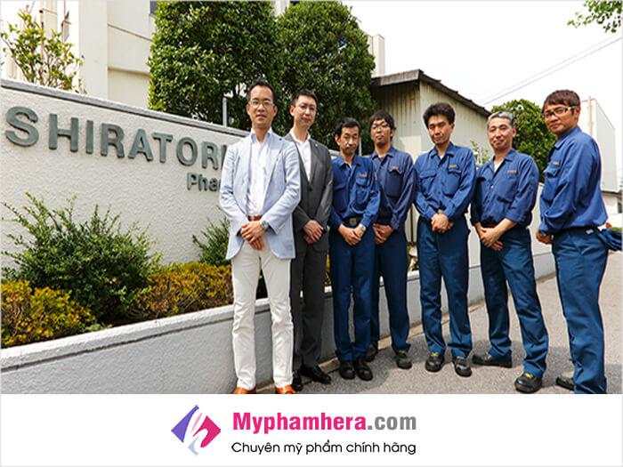 Viên uống trắng da Shiratori Beauty&Whitening được sản xuất ở đâu-myphamhera.com
