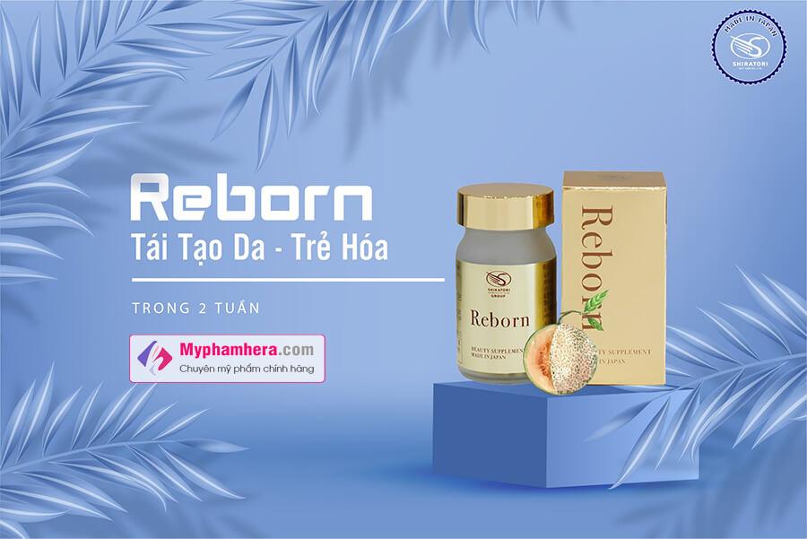 viên uống trẻ hóa tái tạo da shiratori reborn myphamhera.com