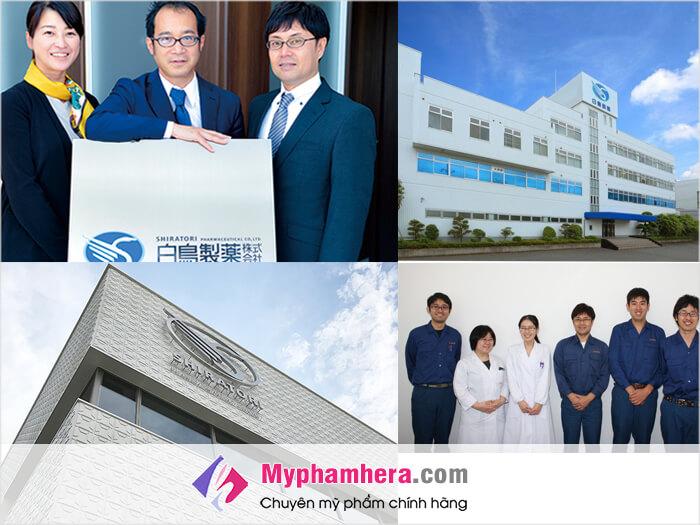 Viên uống trị mụn Shiratori Spot Remover được sản xuất ở đâu-Có an toàn không-myphamhera.com