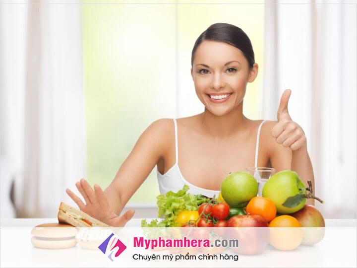Ăn nhiều rau xanh, trái cây hạn chế ăn đồ có nhiều đường