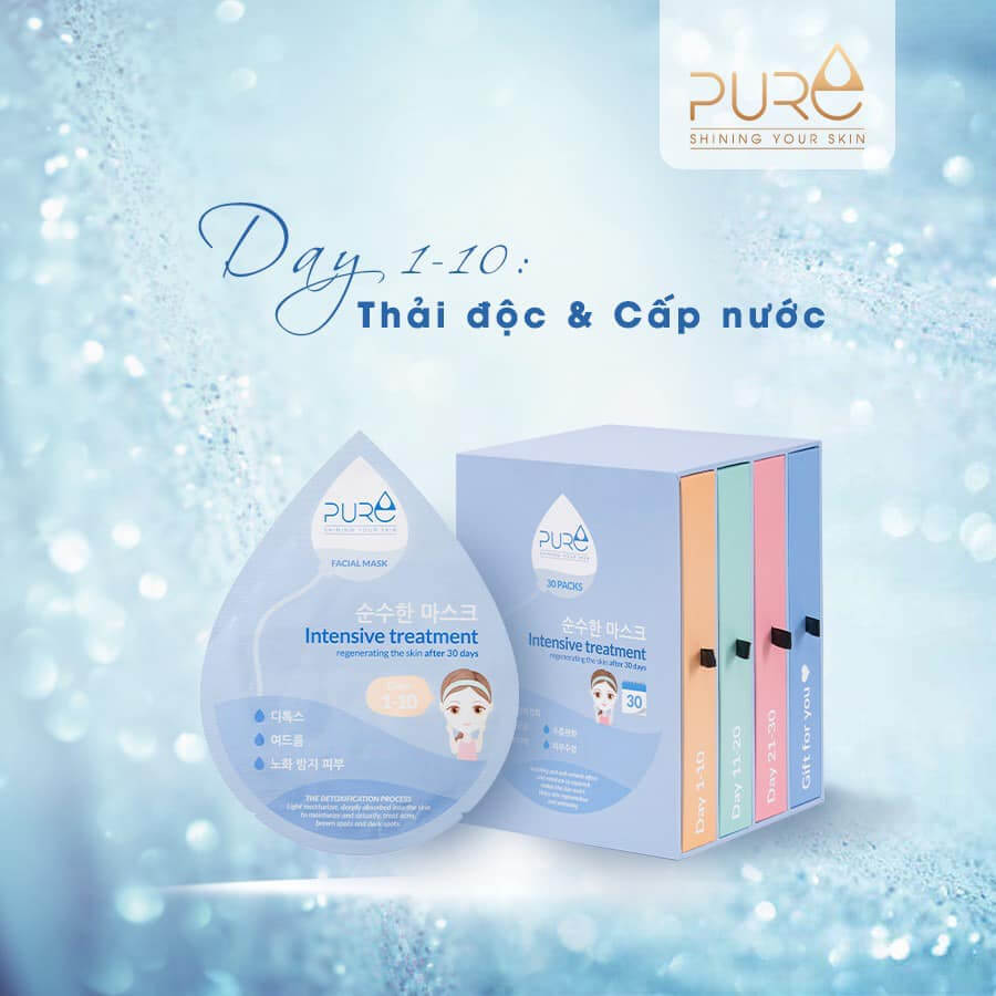công dụng mặt nạ pure myphamhera.com