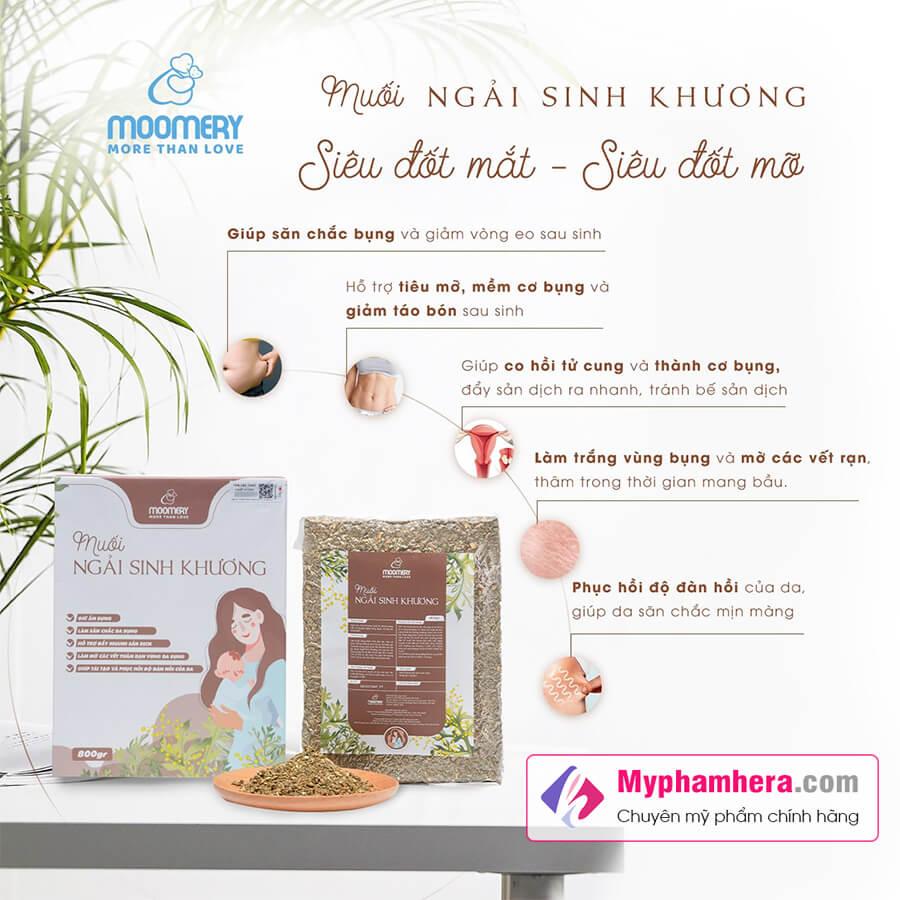 công dụng muối ngải sinh khương moomery myphamhera.com