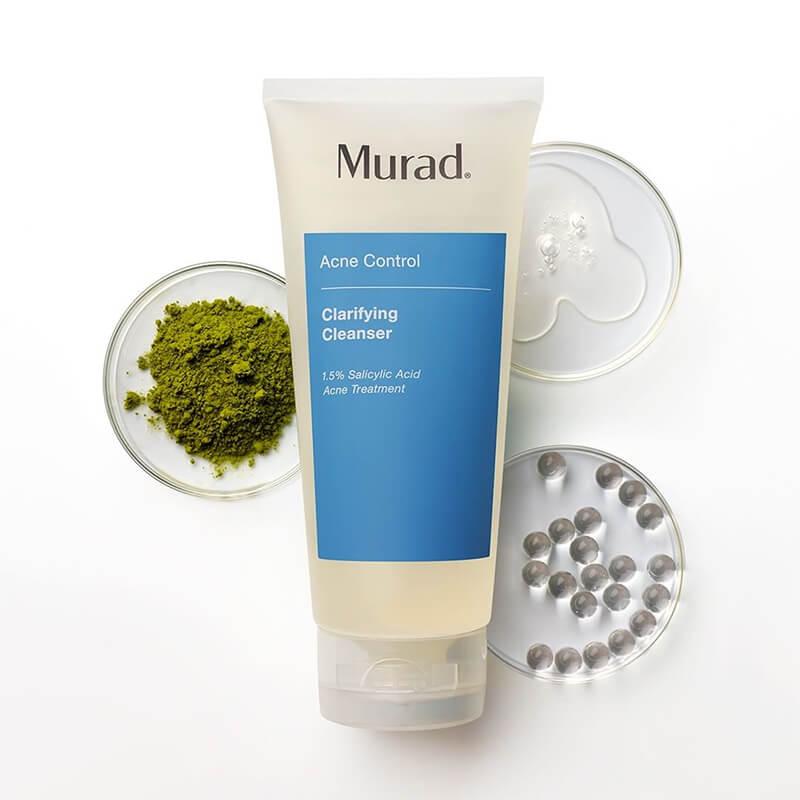 thành phần sữa rửa mặt trị mụn murad myphamhera.com