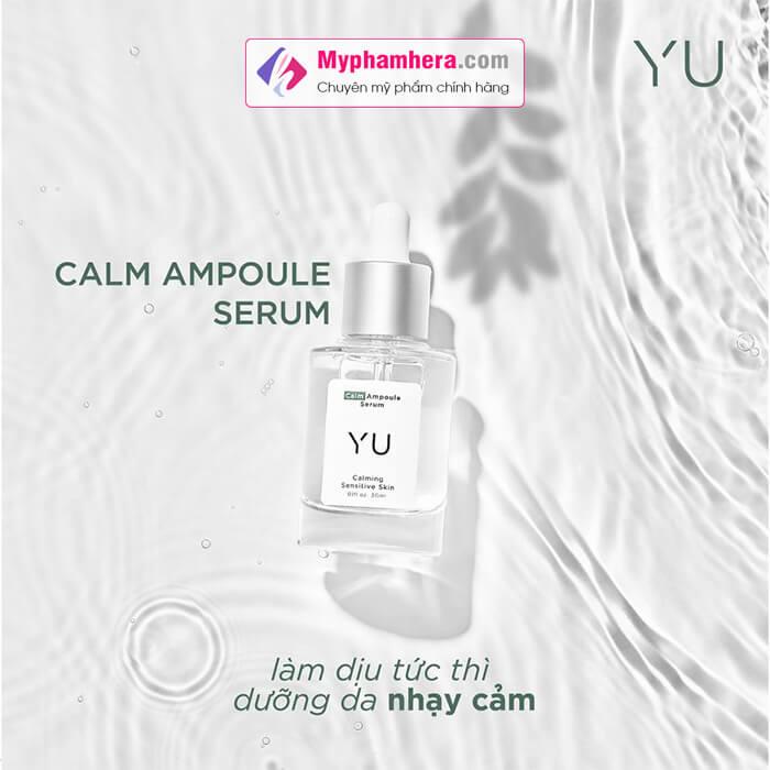 thành phần tinh chất rau má Calm Ampoule Serum myphamhera.com