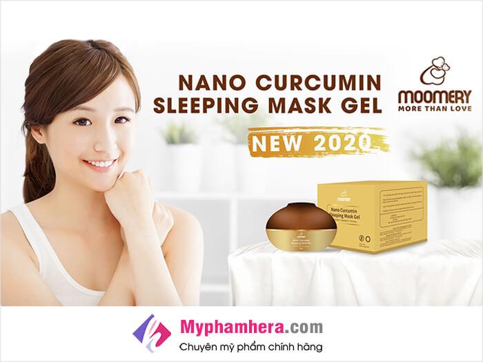 Gel mặt nạ ngủ nghệ Nano Moomery có tốt không-myphamheracom
