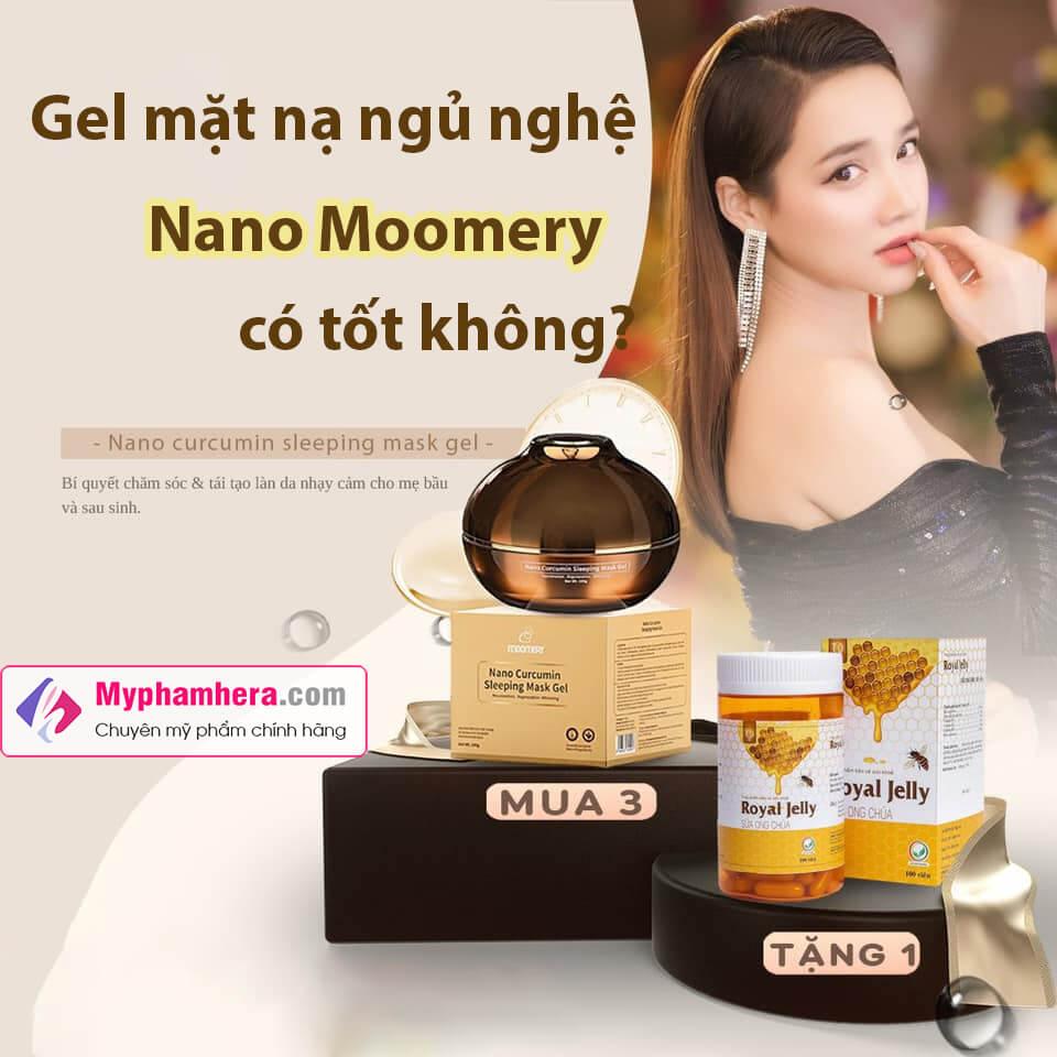 Gel mặt nạ ngủ nghệ Nano Moomery-myphamhera.com