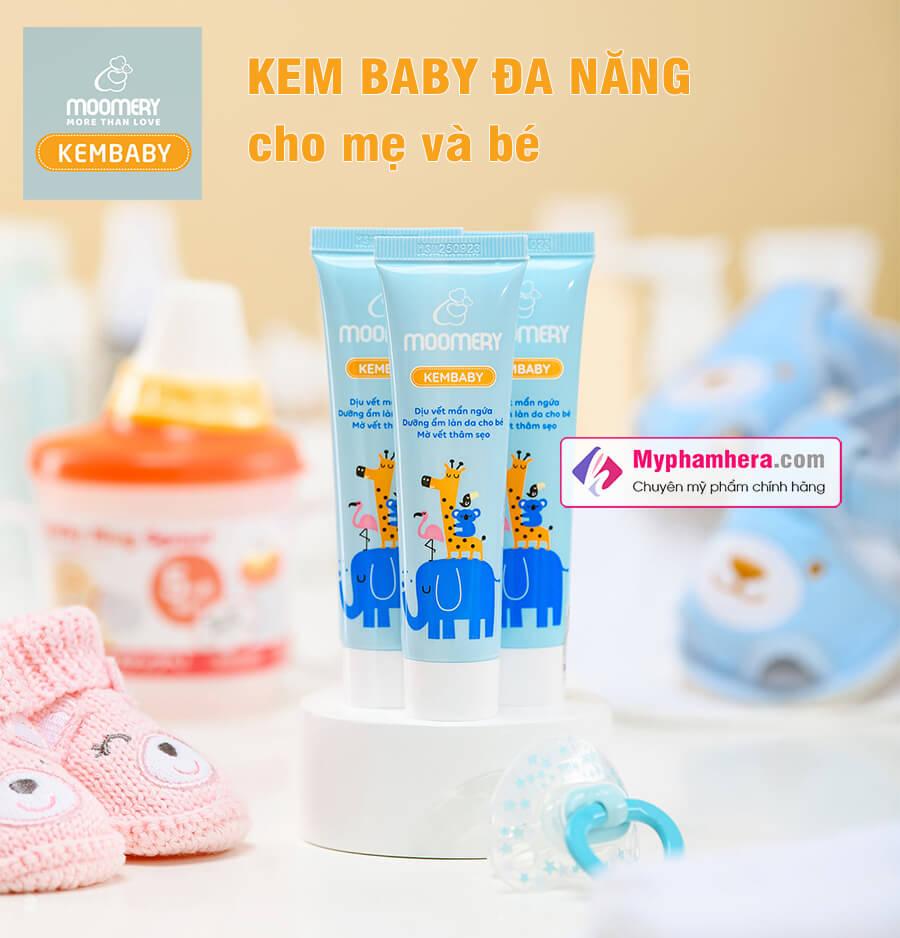 kem baby đa năng cho mẹ và bé moomery myphamhera.com