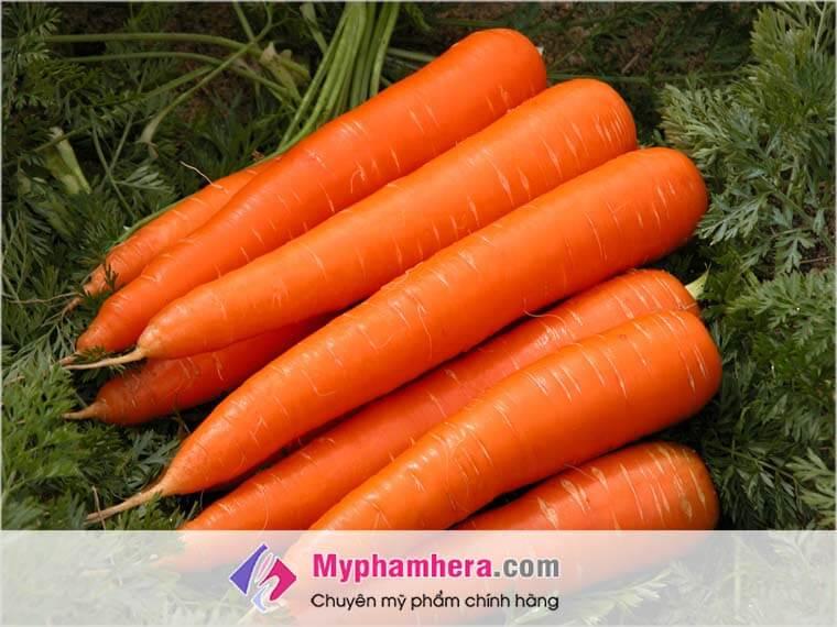 cà rốt chứa chất chống oxy hóa