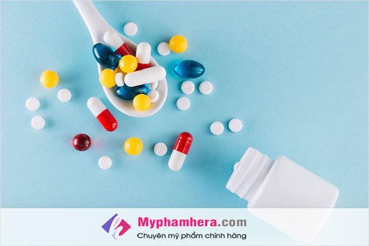 Điều trị mụn sưng đỏ không nhân bằng thuốc tránh thai