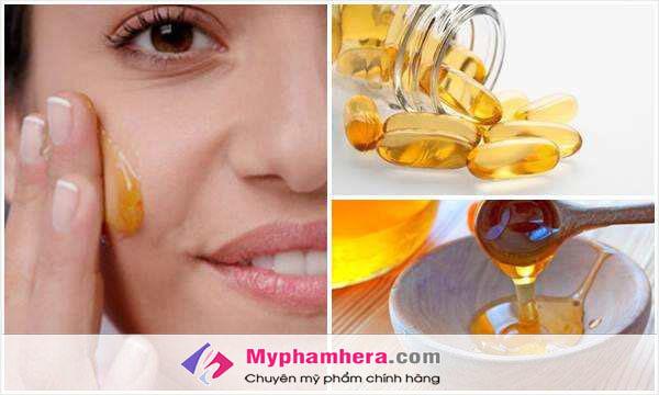Trị thâm mụn bằng vitamin E