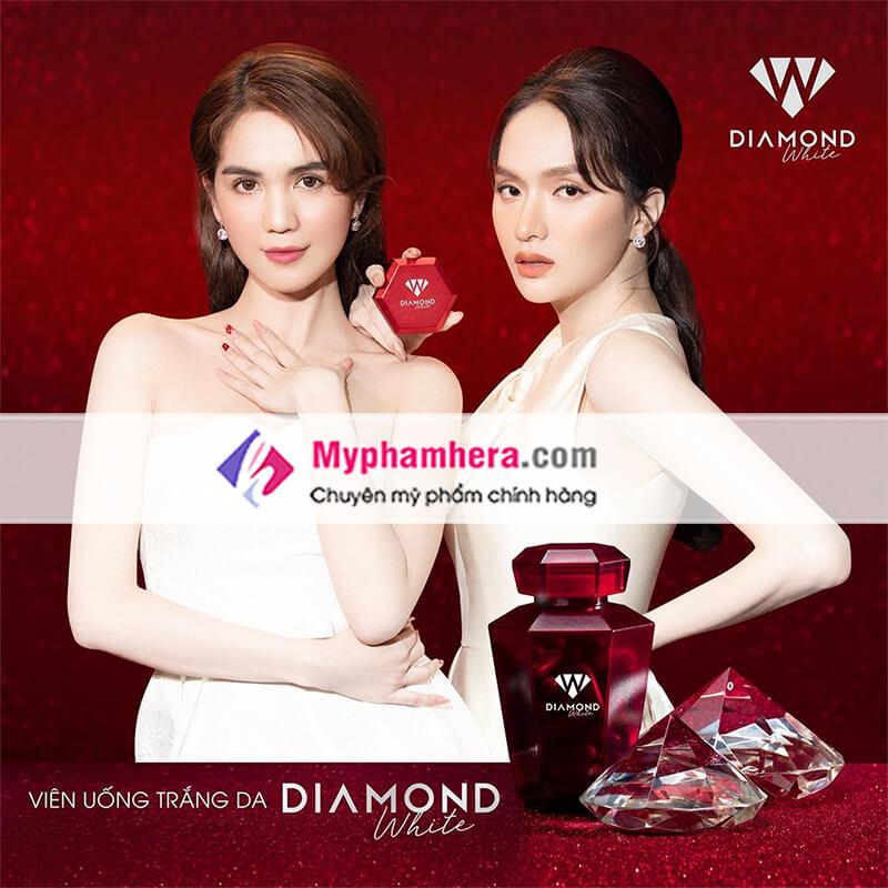 viên uống trắng da ngọc trinh diamond white phiên bản mới nhất-myphamhera.com