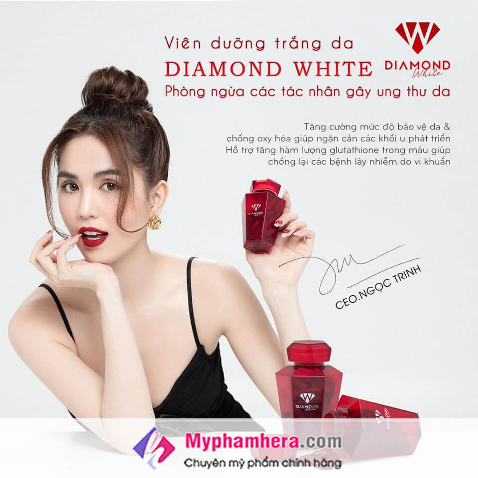 viên uống trắng da ngọc trinh diamond white-myphamhera.com