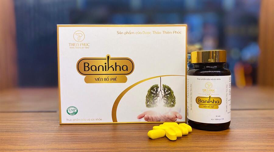 hướng dẫn sử dụng viên bổ phế đông trùng hạ thảo banikha thiên phúc myphamhera.com