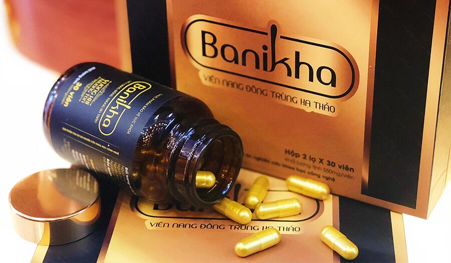 hướng dẫn sử dụng viên nan đông trùng hạ thảo banikha thiên phúc myphamhera.com