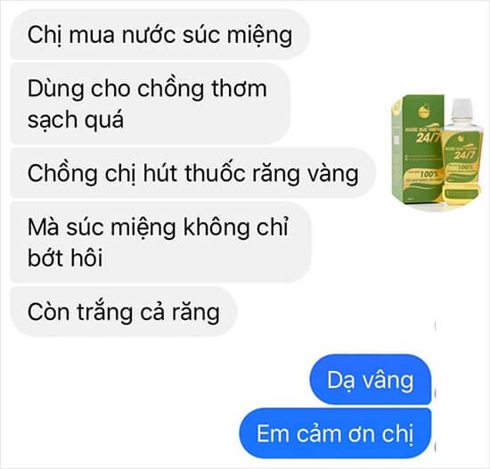 review nước súc miệng bách hương tán có tốt không myphamhera.com