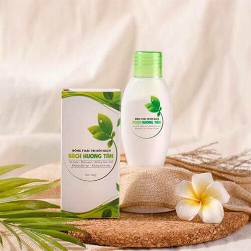 thành phần thảo dược trị mùi hôi bách hương tán myphamhera.com