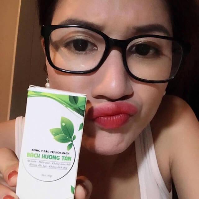 thảo dược đông y đặc trị mùi hôi bách hương tán trang khàn myphamhera.com
