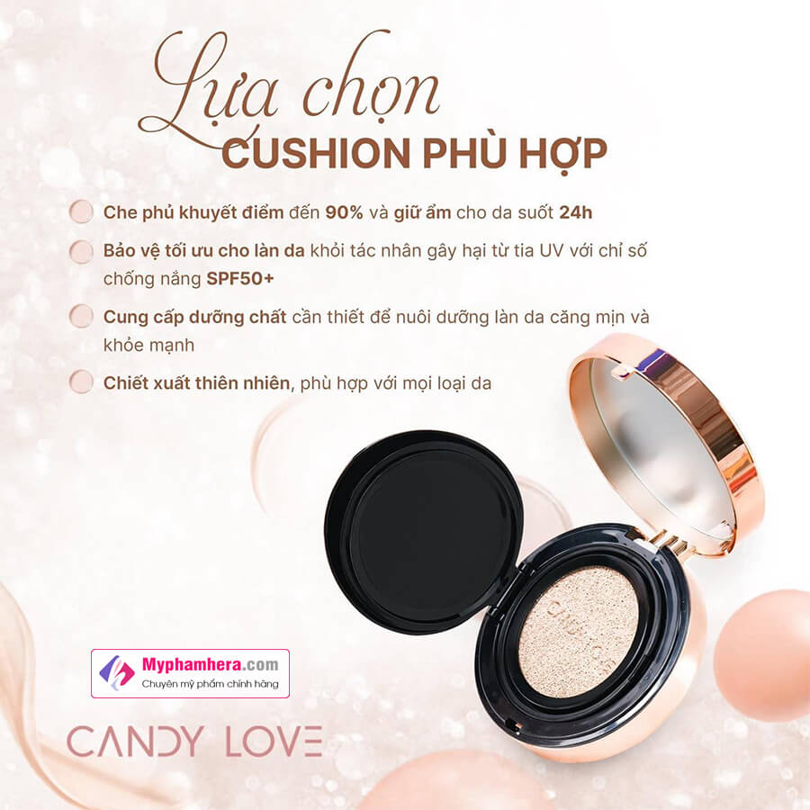 công dụng phấn nước magic cushion candy love myphamhera.com