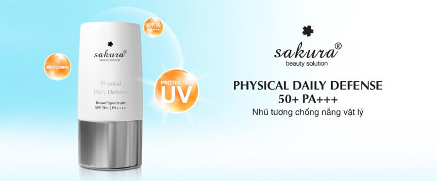 công dụng kem chống nắng vật lý sakura myphamhera.com