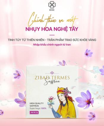 nhụy hoa nghệ tây bebe Saffron Zibard Termes myphamhera.com