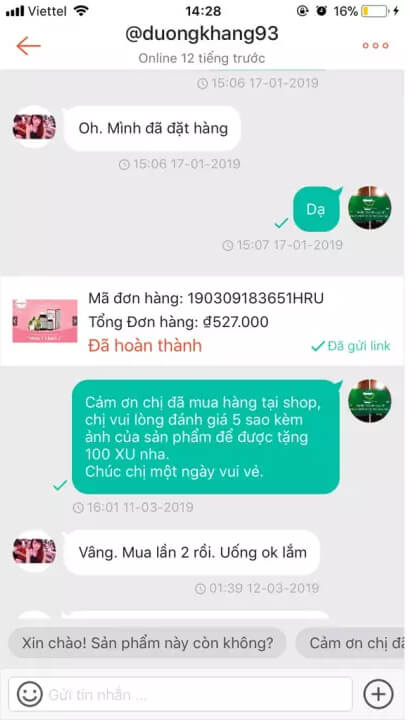 review đào hồng đơn có tốt không myphamhera.com