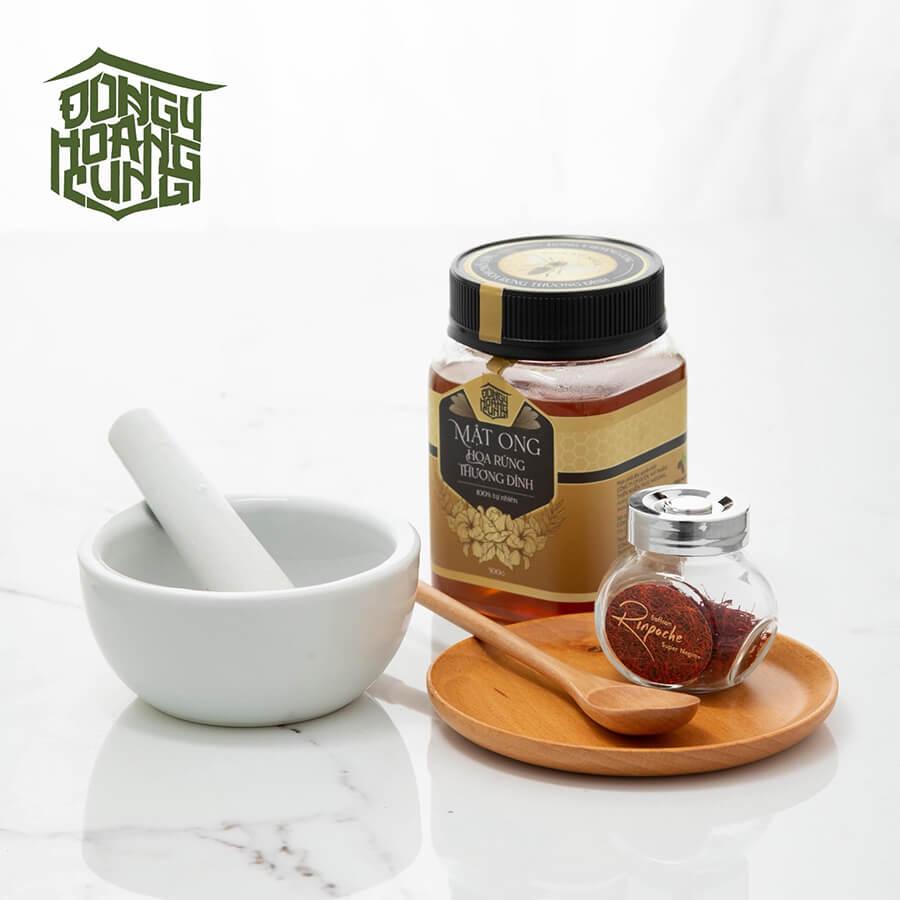 hướng dẫn cách làm mật ong nhụy hoa nghệ tây saffron myphamhera.com